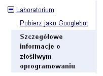 Szczegółowe informacje o złośliwym oprogramowaniu