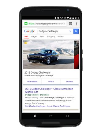 AdWords automotive