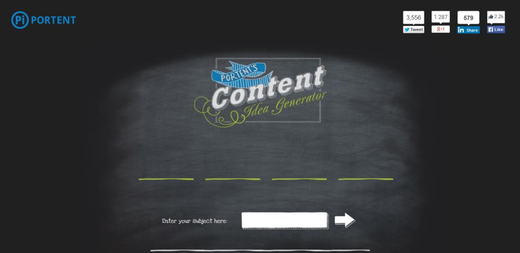 Content Idea Generaton