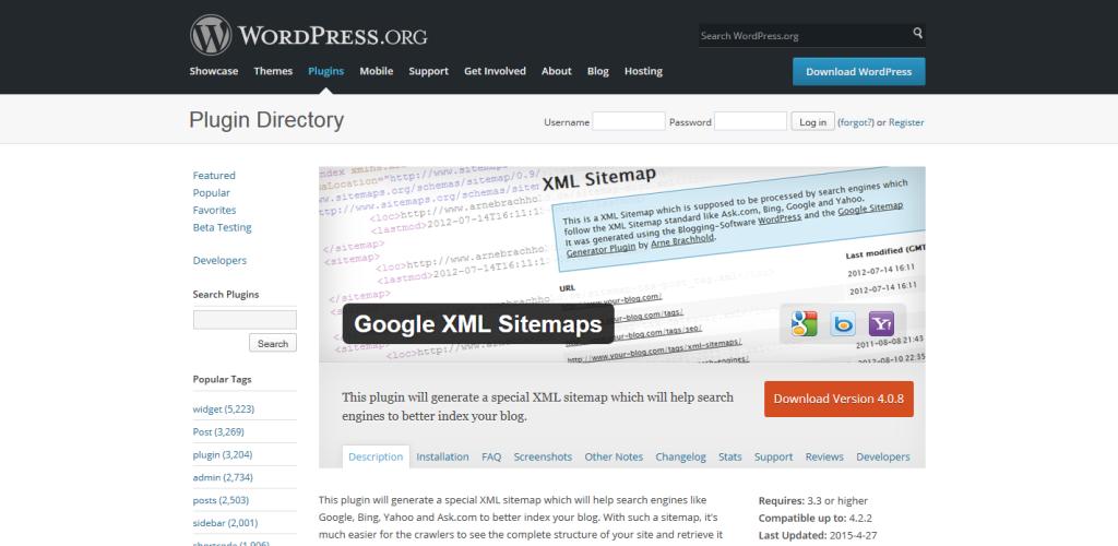 Google XML