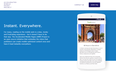 NEWS: Accelerated Mobile Pages od Google do stron mobilnych