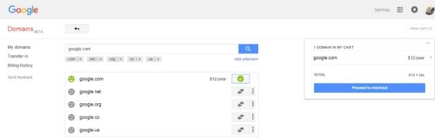 google com za 12 dolarow w google domains