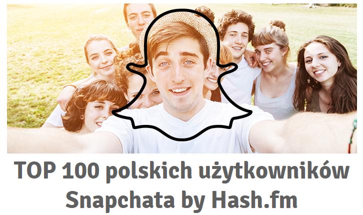 TOP 100 polskich snapchatów