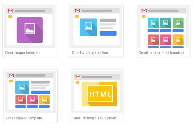 Reklamy w poczcie Gmail