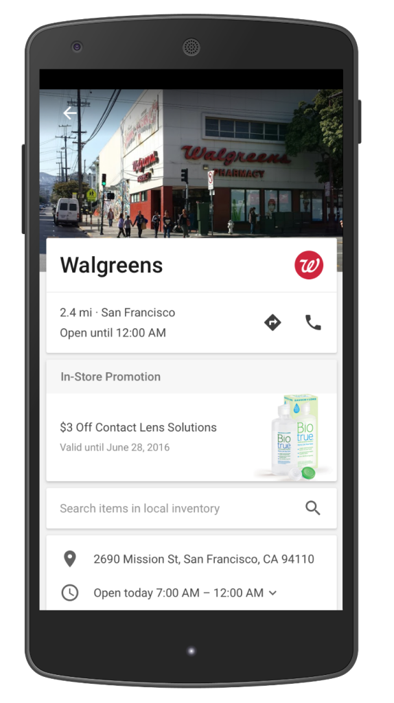 Walgreens Business Page